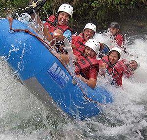 Rafting en la selva Lacandona